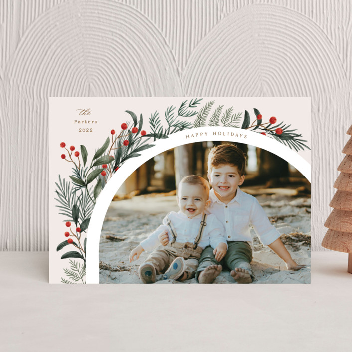 """""""Lush Arch"""" - Holiday Petite Cards in Garden by Elly."""