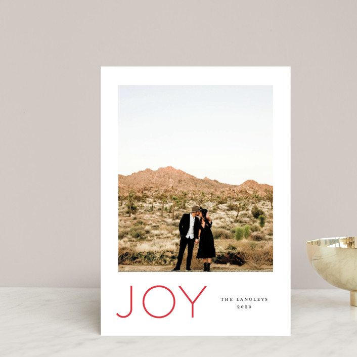 """""""Festive Joys"""" - Holiday Petite Cards in Candy Cane by Little Print Design."""