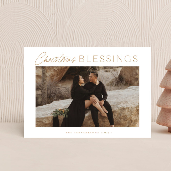 """In abundance"" - Holiday Petite Cards in Wheat by Stacey Meacham."