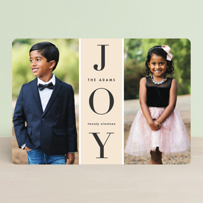 """Original Joy"" - Holiday Petite Cards in Pudding by heythird."