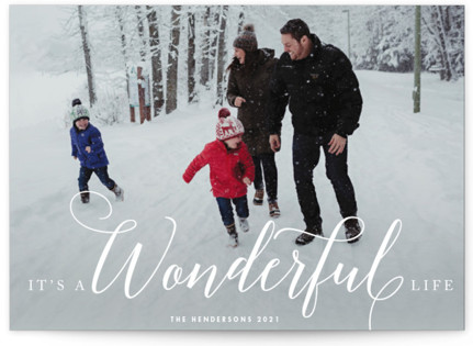 A Wonderful Life Holiday Petite Cards