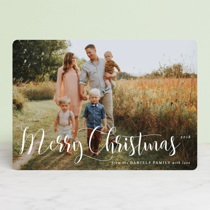"""""""Simply Splendid"""" - Holiday Petite Cards in Snow by Design Lotus."""