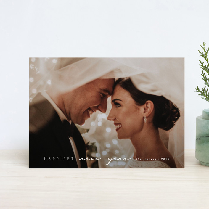 """""""Momenta"""" - Holiday Petite Cards in Cloud by Kann Orasie."""