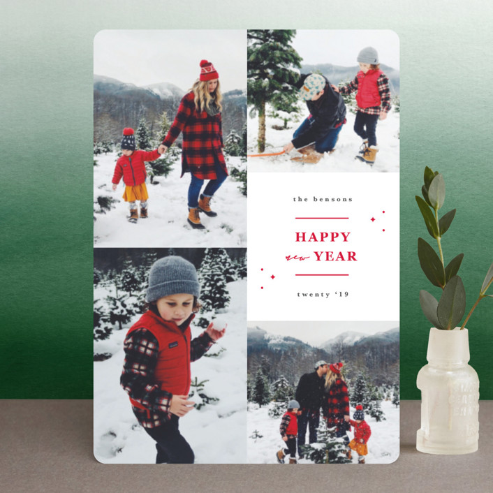 """Blessings of his love"" - Holiday Petite Cards in Warmth by Sweta Modi."