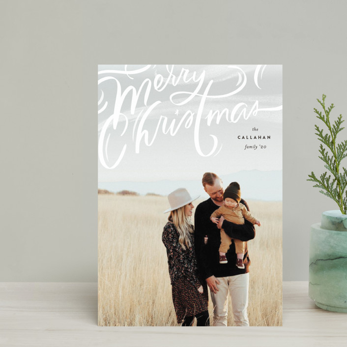 """Windswept"" - Bohemian Holiday Petite Cards in Cocao by Julie Murray."