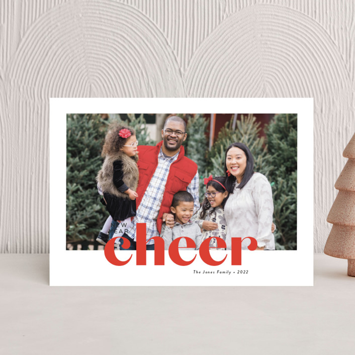 """""""Bold Greeting"""" - Holiday Petite Cards in Santa by Susan Asbill."""