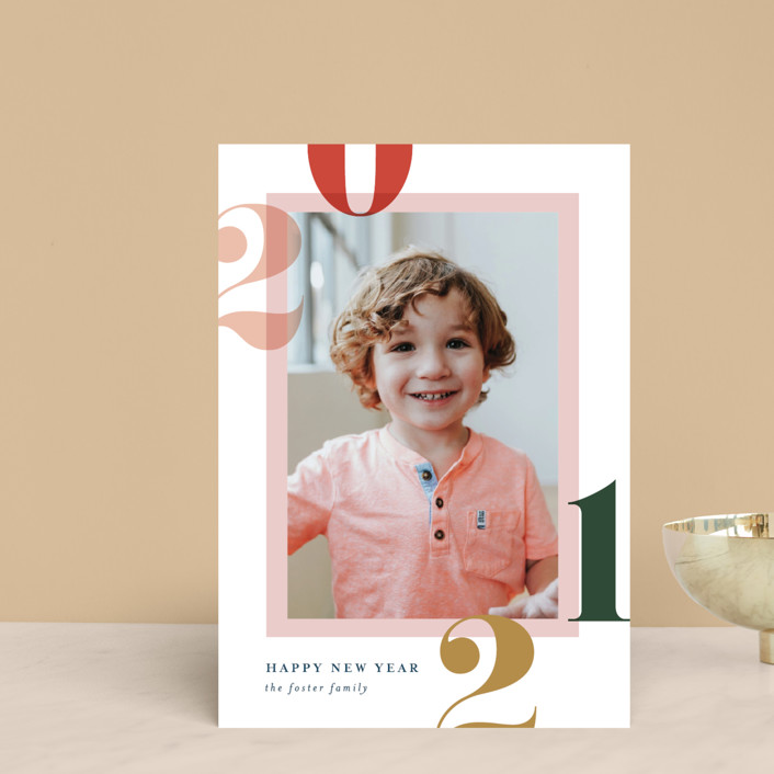 """Bright and Bold Year"" - Holiday Petite Cards in Sunrise by Pixel and Hank."