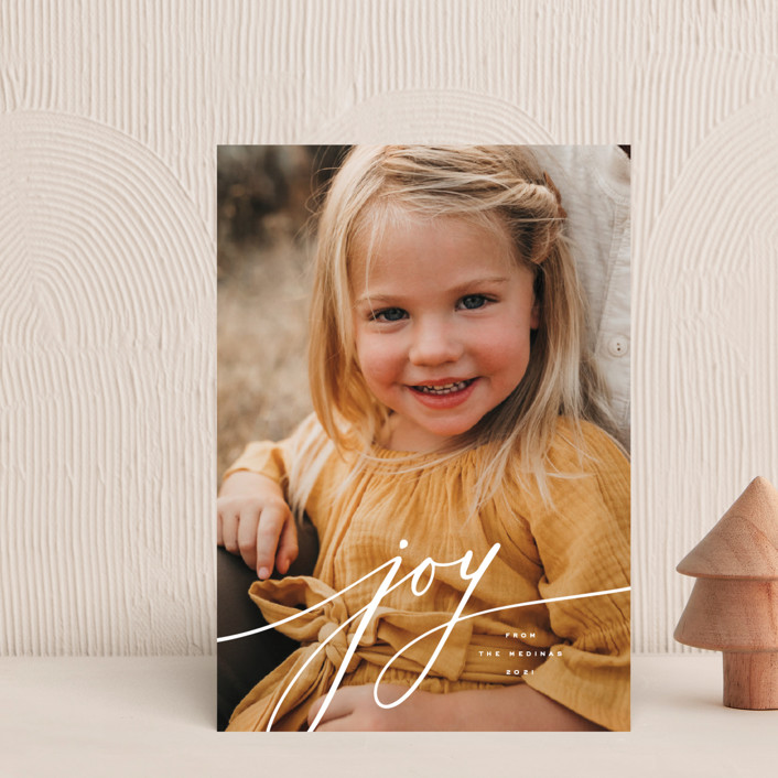 """""""Refined"""" - Holiday Petite Cards in Snow by April Astudillo."""