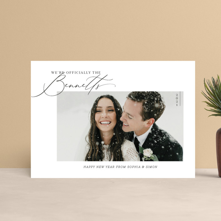 """Officially Official"" - Holiday Petite Cards in Tuxedo by Carolyn Kach."