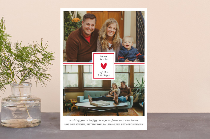 """the heart of the holidays"" - Holiday Petite Cards in Poppy by Bethan."