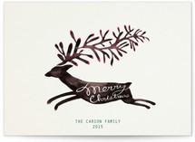 Christmas Deer by Meishu Ke