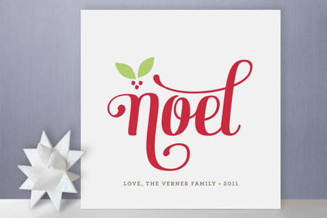 Berry Noel Holiday Cards