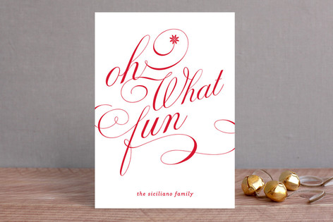 Ton of Fun Holiday Cards