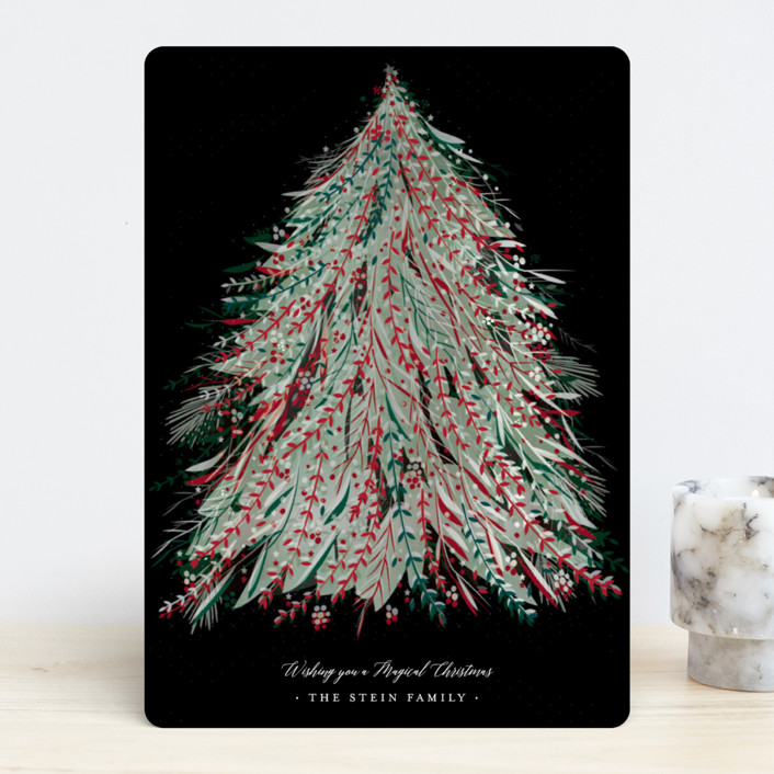 """""""Enchanted"""" - Holiday Cards in Norway Pine by Jennifer Lew."""