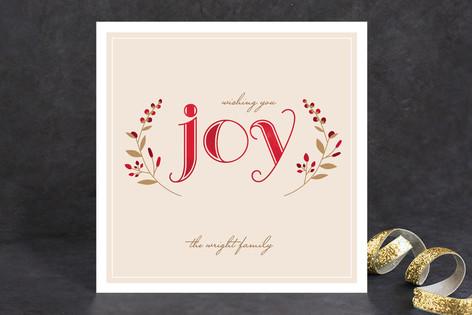 Serene Joy Holiday Cards