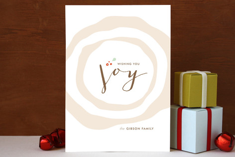 Buche de Noel Holiday Cards