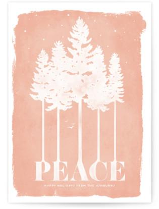 Serene Holiday Non-Photo Cards