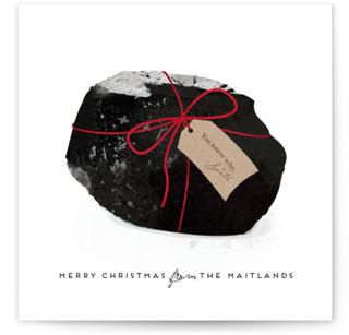 Coal Holiday Non-Photo Cards