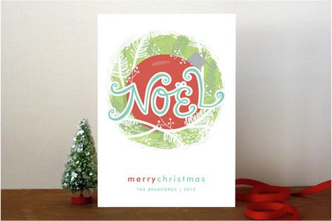 Nestled Noel Holiday Cards