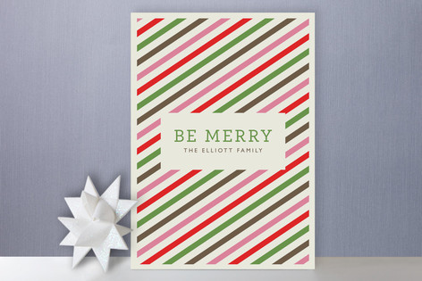 Twisted Peppermint Holiday Cards