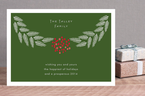 Branches & Berries Holiday Cards