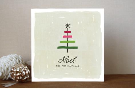 Ribbon Tree Holiday Cards