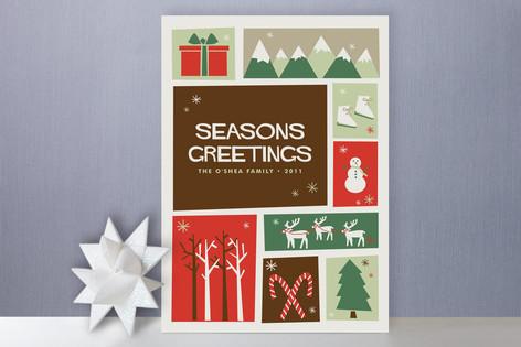 Christmas Cutout Holiday Cards