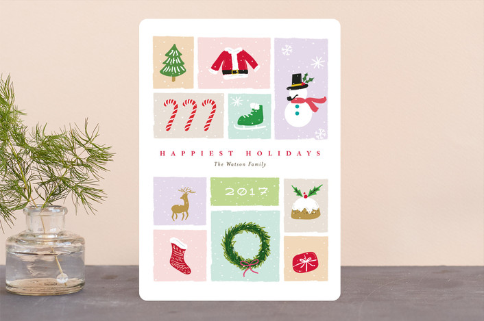 """""""neve"""" - Holiday Cards in Snowfall by chocomocacino."""