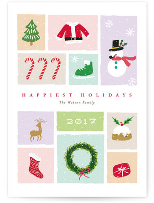 neve Holiday Non-Photo Cards