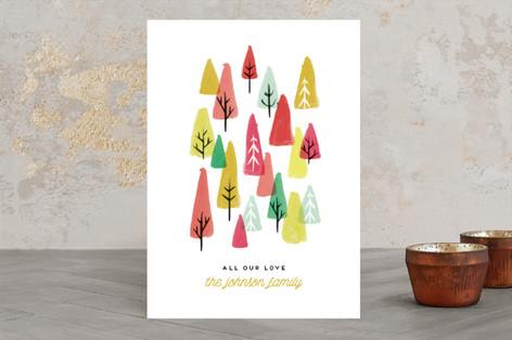 The Tree Lot Holiday Cards