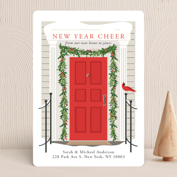 From Our Home To Yours Vintage Holiday Cards In Candy Cane By Susan