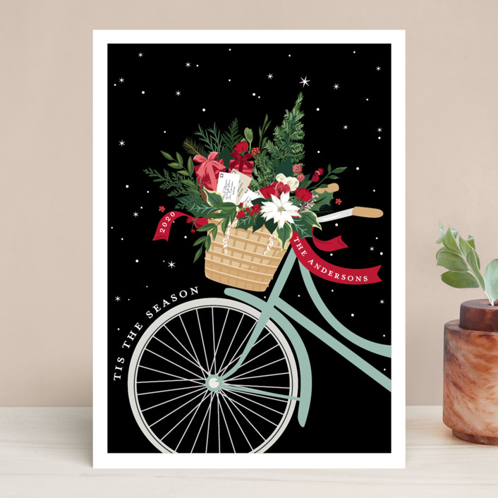 Holiday Delivery Holiday Cards by Susan Moyal | Minted