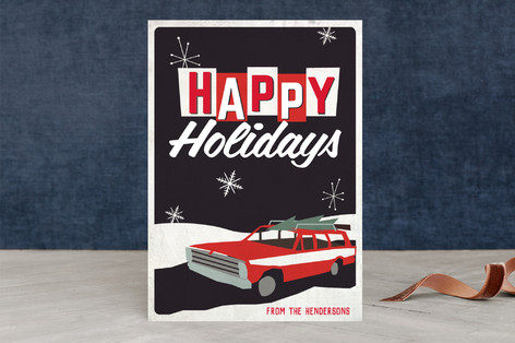 Retro Family Holiday Holiday Cards By Morgan Kenda Minted