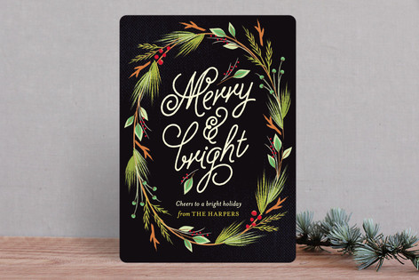 Currant & Juniper Holiday Cards