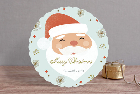 Santa Baby Holiday Cards