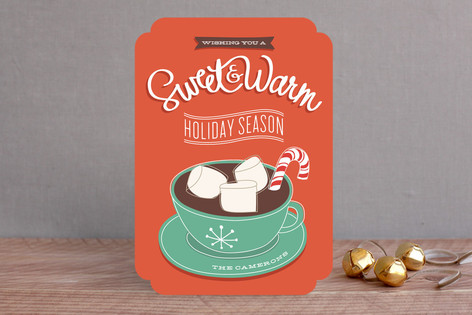 Sweet + Warm Holiday Cards
