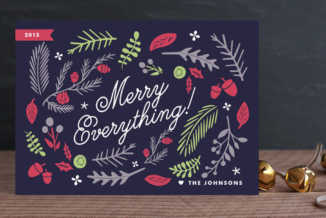 Floristry Holiday Cards