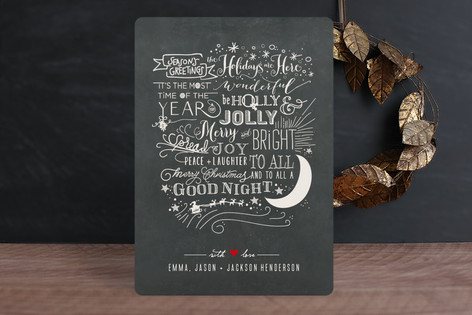 Long Winded Holiday Cards
