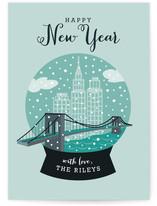 NYC Snow Globe by Yolanda Mariak Chendak