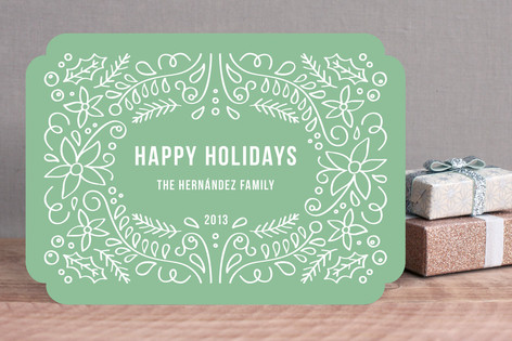 Holiday Foliage Holiday Cards
