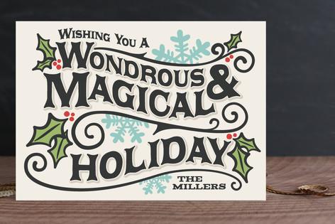 Wondrous Holiday Cards
