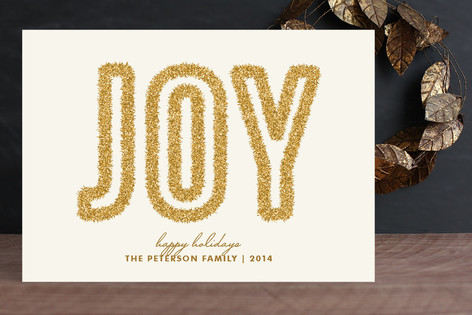 Tinsel Joy Holiday Cards