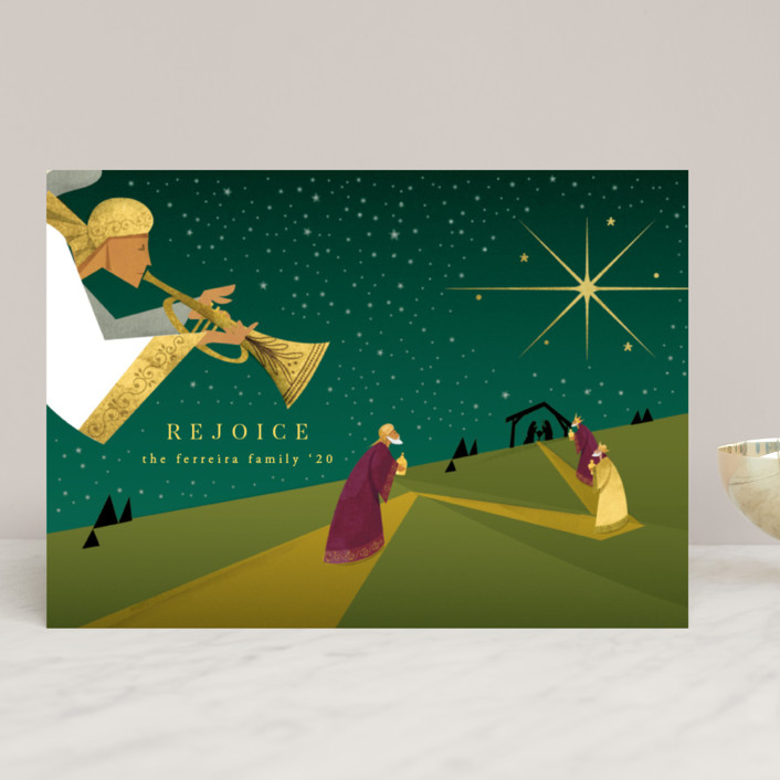 """""""Christmas story"""" - Holiday Cards in Pearl by Ana de Sousa."""