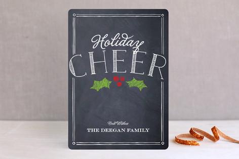 Chalkboard Cheer Holiday Cards