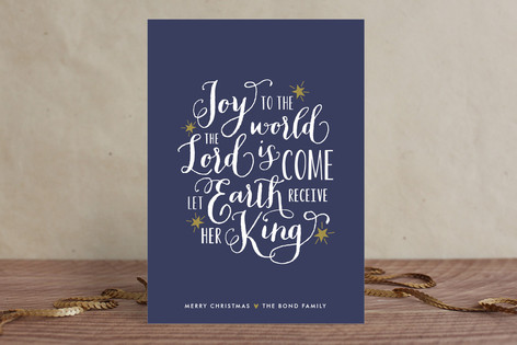 A Joyful Message Holiday Cards