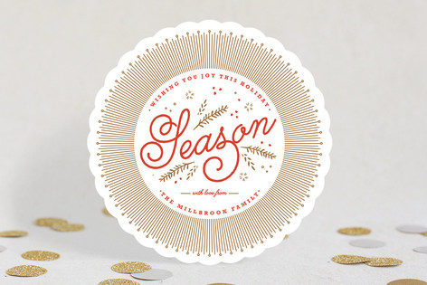 Warmly Wished Holiday Cards