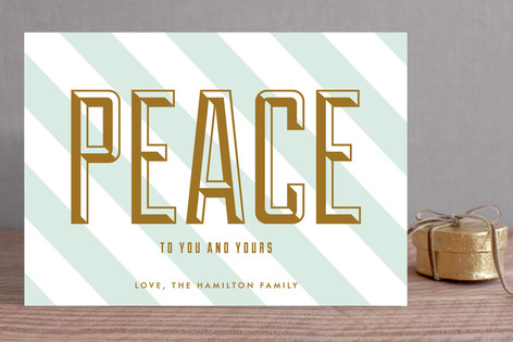 Peace to You and Yours Holiday Cards