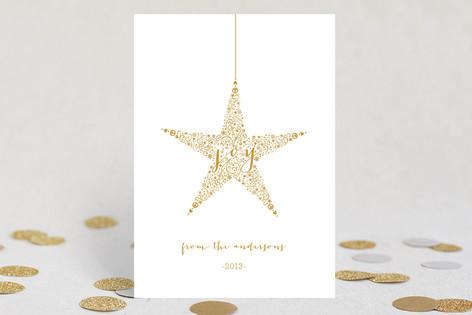 Star of Joy Xmas Holiday Cards