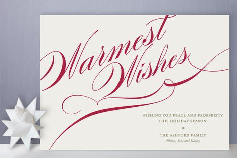 Winter Flourish Holiday Cards