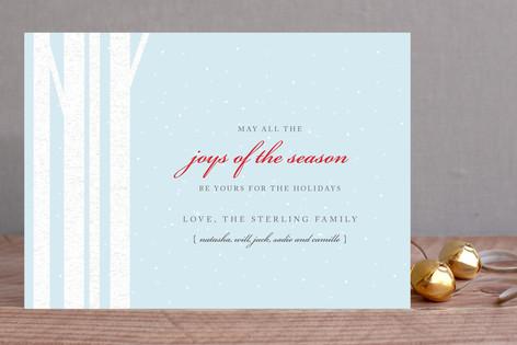 Winter Birch Holiday Cards
